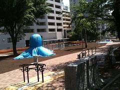 まだ工事中のたこ公園。先は長そう。2011/5/8