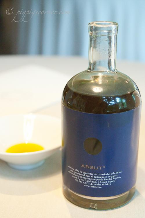 Mugaritz, San Sebastian olive oil