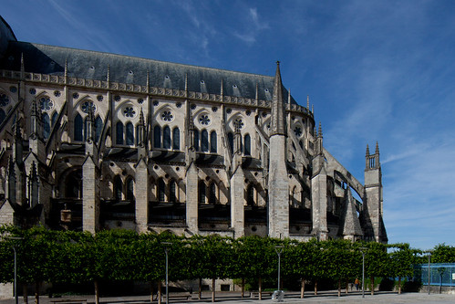 2011 Bourges Cathedral - South Flank