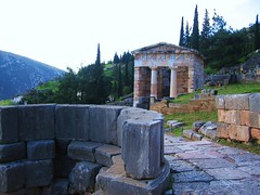 Delphi Sanctuary_Delphi_Greece (koorosh.nozad) Tags: history archaeology statue sphinx greek temple oracle ancient ruins europe god delphi unesco greece fries sacredplace stadion apollo griechenland mythology sanctuary parnassos ruinen orakel geschichte antike ancientruins apollon odysseus mythologie götter kuroi sacredway delfi griechen omphalos pythia schatzhaus mountparnassus heiligtum denkmäler weihung pythiangames oracleofdelphi apollontempel antikeruinen römischeagora heiligestrasse sanctuaryofgodapollo weihgeschenk hellenischeepoche klassischezeit hallederathener prusiasstatue silbernestier sphinxdernaxier naxier katalischequelle schatzhäuser pythischespiele felsendersibylle antikezeit sanctuaryofgodapollon
