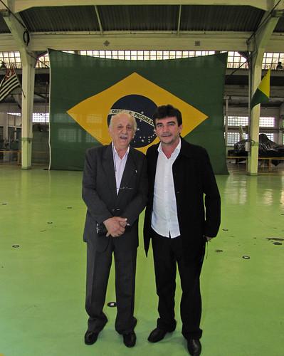 Samuel (pai) e Andrés Sanchez by kassá