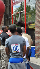 PennRelays2011-055.jpg (Starmaker Photos) Tags: man black male college philadelphia sports field race championship athletic university track muscular african photojournalism pa american penn africanamerican athlete runner sprint relays bopr