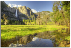 I Found the Garden of Eden (YYZDez) Tags: california park usa lake mountains reflection yosemitefalls water canon landscape waterfall nationalpark pond cliffs sierra unescoworldheritagesite worldheritagesite valley yosemite yosemitenationalpark sierranevada cooksmeadow canonef24105f4isllens canonef24105f4isl canon5dmkii granitecliffs