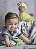 Parkland Baby Portraits - Max at 6 months (DiGitALGoLD) Tags: portrait baby studio nikon 85mm babypictures giraffe d3 babyportraits babygiraffe digitalgold maxat6months