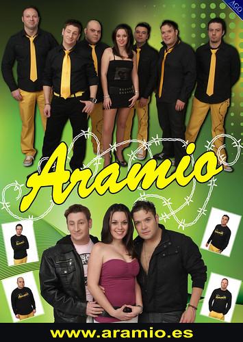 Aramio 2011 - grupo - cartel web
