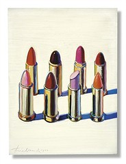 Wayne Thiebaud, Lipsticks, 1964, Sold for $1,202,500 at Christie's May 13 2009