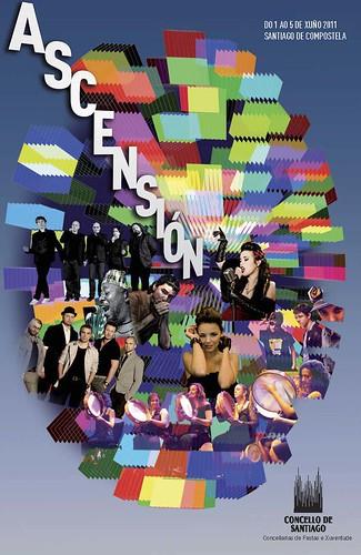 Santiago de Compostela 2011 - Ascensión - cartel