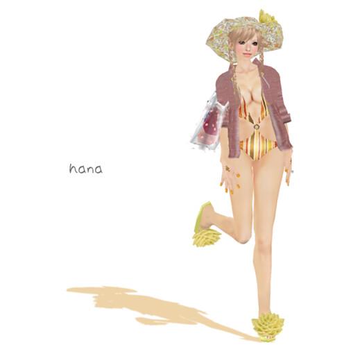 'MICO' Stripe Bikini LUCKY (BOX)