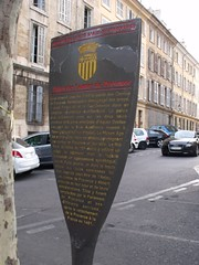 Photo of Palais des Comtes de Provence, René of Anjou, and Parlement de Provence grey plaque