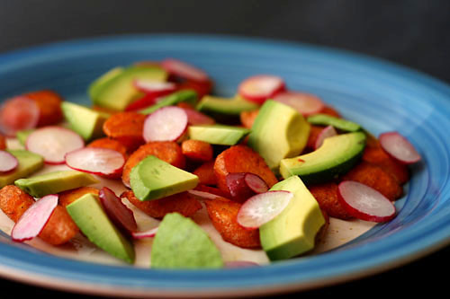 carrot avocado salad 4