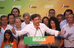 Pedro Passos Coelho Comício no Porto