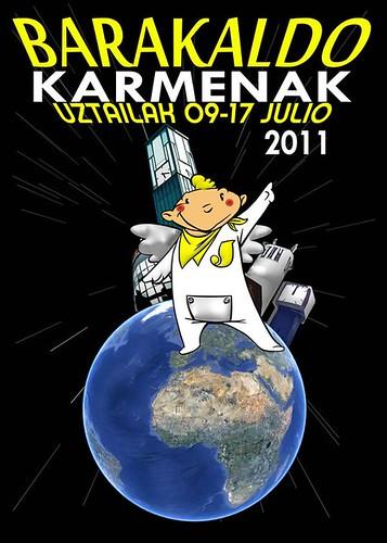 Cartel 4. Concurso Carteles de Fiestas de Barakaldo 2011