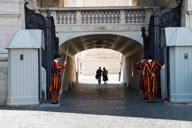 Rome. Vatican Guards