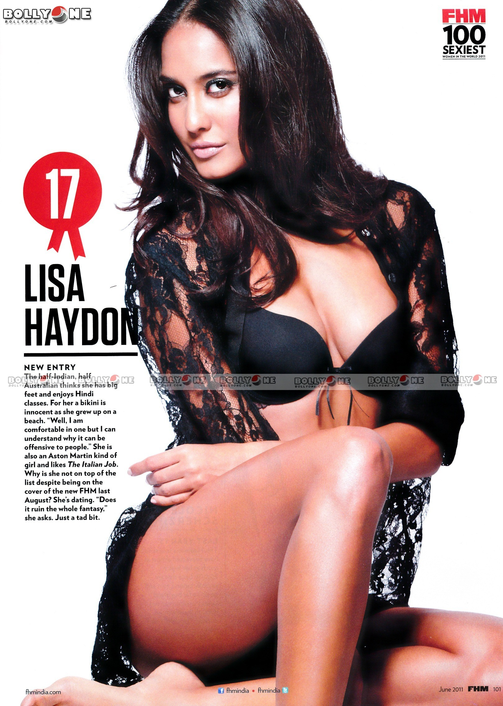 HQ PICS - FHM Top 100 Sexiest Women - ONLY BOLLYWOOD STARS n MODELS - HQ MAGAZINE pix
