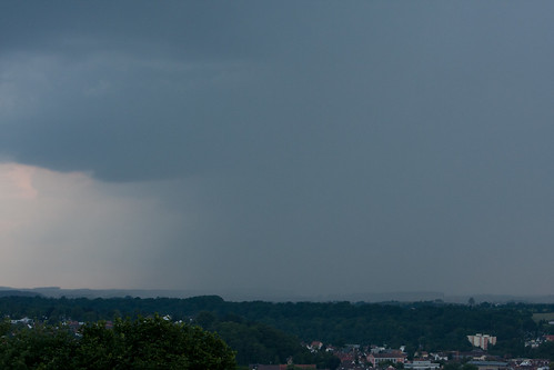 Cloudy Skies over Oberschwaben