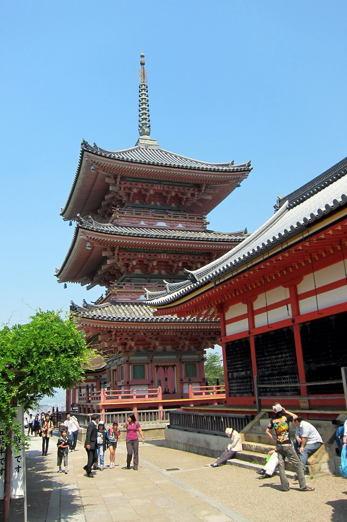 Kyoto - Higashiyama: Kiyomizudera -Sanju-no-to and Kyo-do