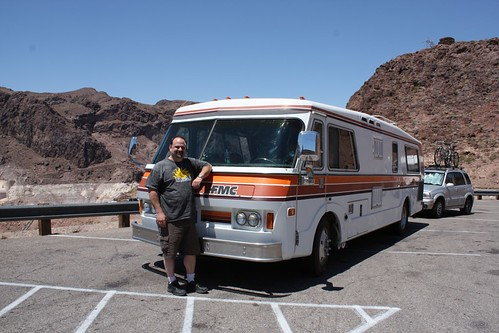 FMC 708 & Greg at Hoover Dam