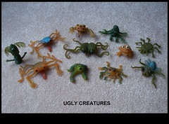 Group of Ugly Creatures (Astronit) Tags: pets monster 60s rubber ugly horror creature uglies basilwolverton jiggler