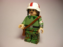 Waffen SS sanitter (medic) LEGO (MR. Jens) Tags: world two berlin female women war wiking lego wwii ss battle camo german ww2 oakleaf medic sanitter the waffen eichenlaubmuster