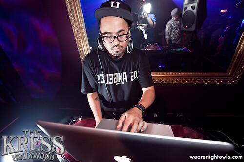 DJ EROK AT KRESS HOLLYWOOD
