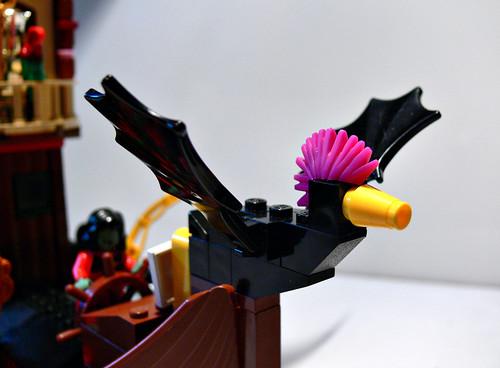 A Monster Bird Figurehead