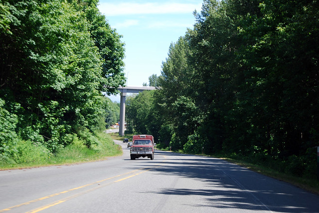 SR 117 in Tumwater Creek Canyon