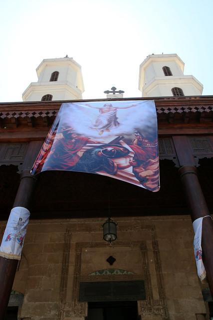 エジプト、オールドカイロ、ムアッラカ教会