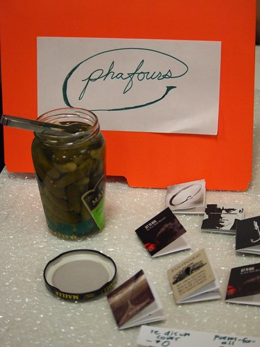 Phafours with free pickle!