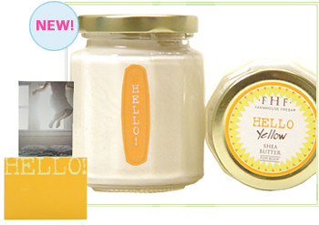 Hello! Yellow Shea Butter Cream