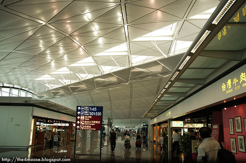 Hong Kong International Airport - Concourse Gates 1 - 65