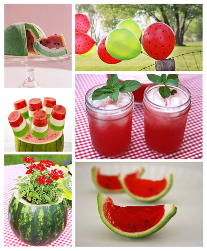 Watermelon Themed Party