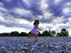 Pink Crocs (NIKOZAR (Nicola Zaratta)) Tags: pink italy beach clouds landscape nikon italia nuvole rosa cielo coolpix spiaggia hdr scarpe crocs p500 nikoncoolpix jonio ciabatte ciottoli nikonp500 roccaimperiale nikoncoolpixp500 coolpixp500 nikozar hdrp500 marinadiroccaimperiale