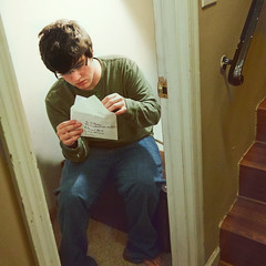 The Letters From No One (Casey David) Tags: boy man guy green film stairs project movie glasses student hp day open post mail witch wizard magic ss harry potter harrypotter days clothes jeans barefoot messyhair letter opening 365 oversized hogwarts cupboard reenactment lettters philosophersstone sorcery hpss project365 365days gettingmail magics harrypotterandthesorcerersstone privetdrive guyinglasses owlpost harrypotterseries caseydavidphotography openingaletter