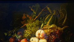 Rachel Ruysch, Fruit and Insects (detail), 1711