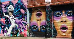 Bushwick collective street art (ZUCCONY) Tags: 2016 brooklyn nyc streetart newyork unitedstates us bobby zucco bobbyzucco pedrozucco bushwick bk ny arte calle mural murales graffiti