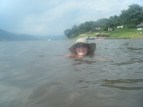 Swimming in the Congo River by amalthya