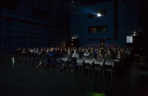Im ZKM gab es bei der Arte-Filmnacht Internet auf der Leinwand