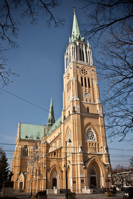 katedra św. Kostki Łódź