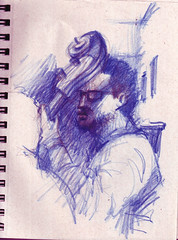 SketchJazz3 (AdrianoMello) Tags: sopaulo jazz desenho hidrocor scketchbook baranita sketchjazz