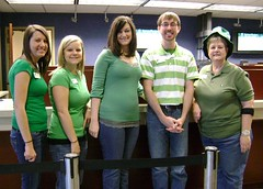 St. Patty's Day at South Carolina Federal (southcarolinafederal) Tags: south union credit carolina federal
