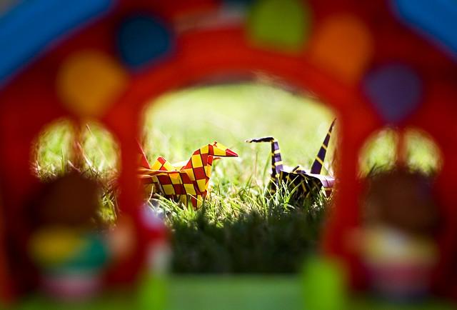 03-23-11 - Cranes at a School