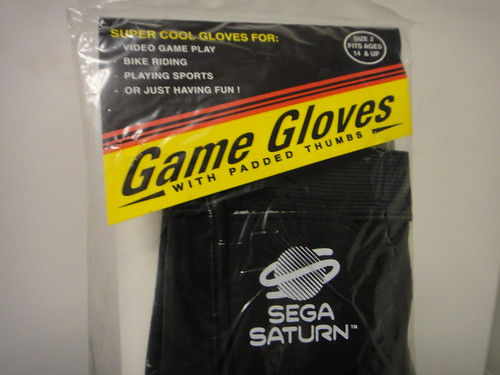 SEGA Saturn Game Gloves