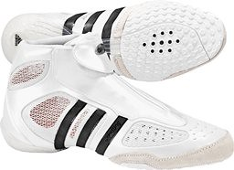 adidas Adistare White Black wrestling shoes