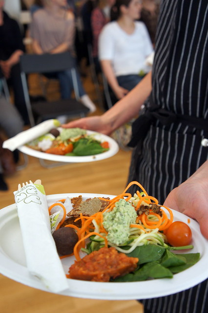 Mat på raw food-kurs i Jönköping