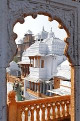 City Palace, Kota (nekineko) Tags: india building architecture asia arch palace kota rajasthan northindia rajput chhatri
