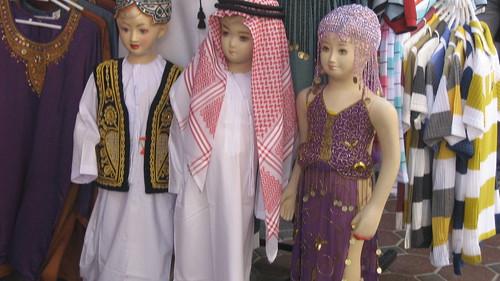 Mannequins in Bur Dubai