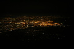 2011_03_23_slc-lax-bos_29 (dsearls) Tags: city west night flying los angeles united cities aerial infrastructure unitedairlines windowseat windowshot anthropocene 20110323 slclaxbos