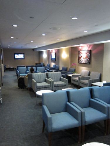 VIP lounge seating