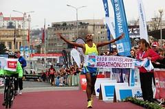 Bratislavský maraton: Pomodlil se a zvítězil
