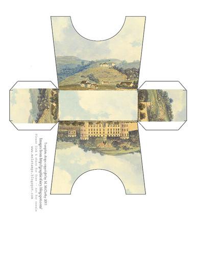 landscape castle purse mel stampz